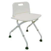 DMI® Folding Shower Seat with Backrest
