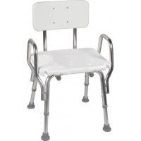 DMI® Shower Chair with Backrest