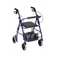DMI® Adjustable Seat Height Aluminium Rollator