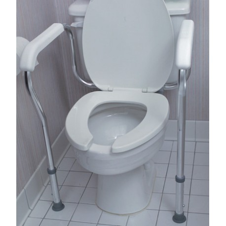 HealthSmart® Toilet Safety Arm Support with BactiX™ Antimicrobial