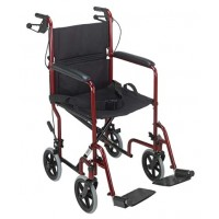 DMI® Folding Steel Transport Chair