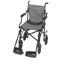 DMI® Folding Lightweight Aluminium Transport Chair